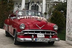 ماشین عروس کلاسیک شورلت