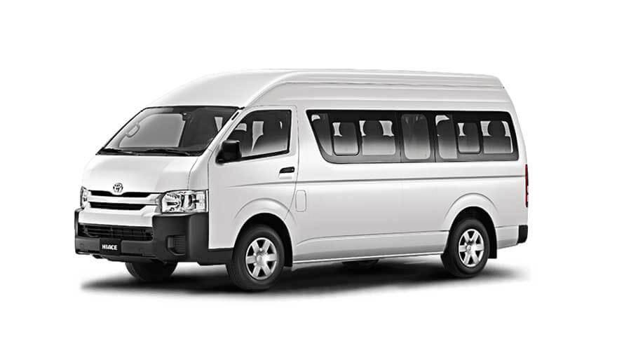 Van TOYOTA Hiace