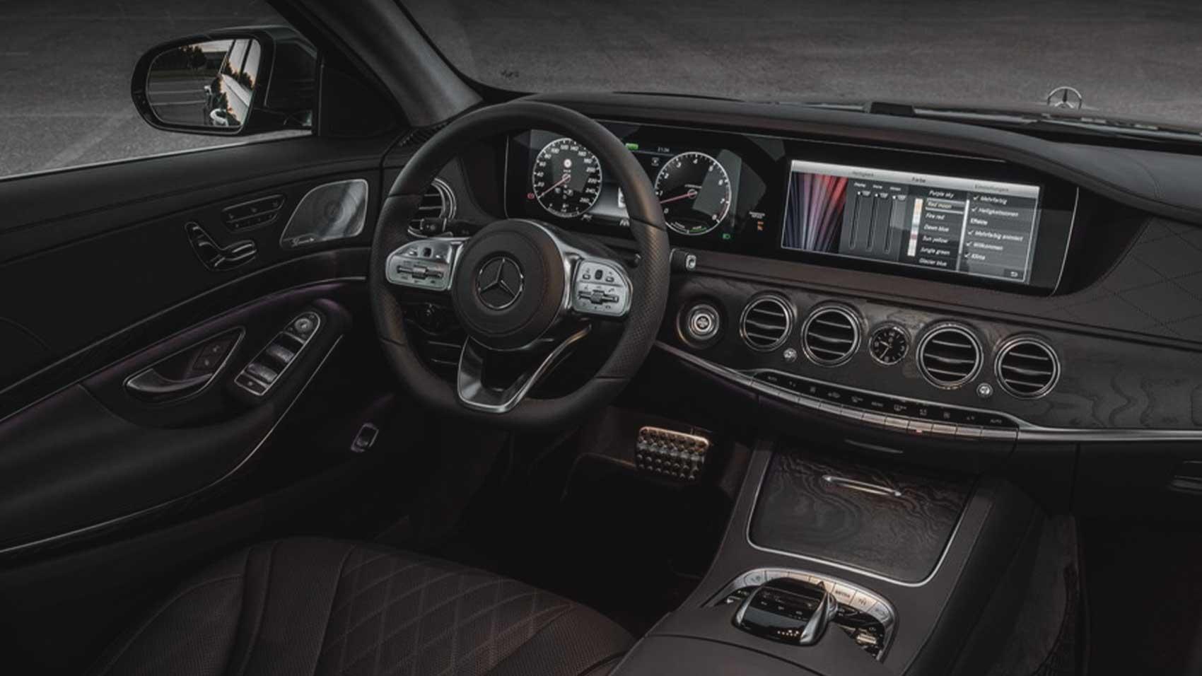 بنز S500