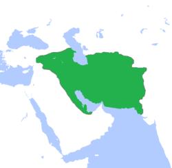 Parthians empire map