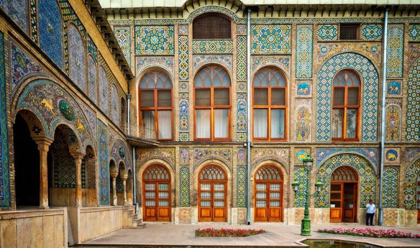 Golestan palace museum in Tehran