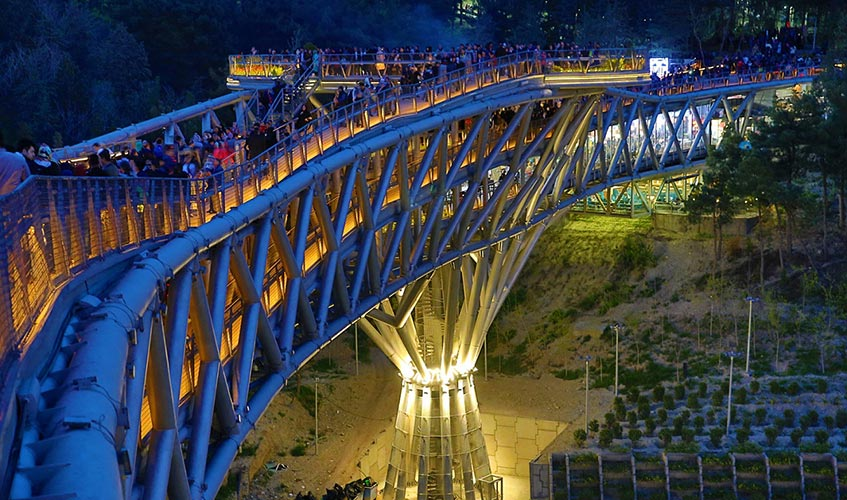 Tabiat bridge in Tehran