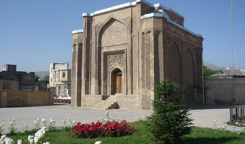 alavian dome in hamadan