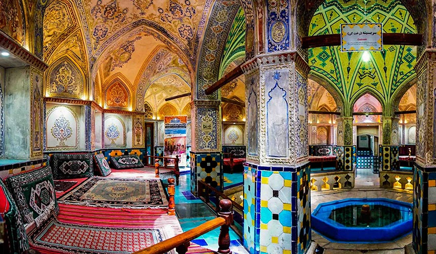 Kashan attractions in Iran
