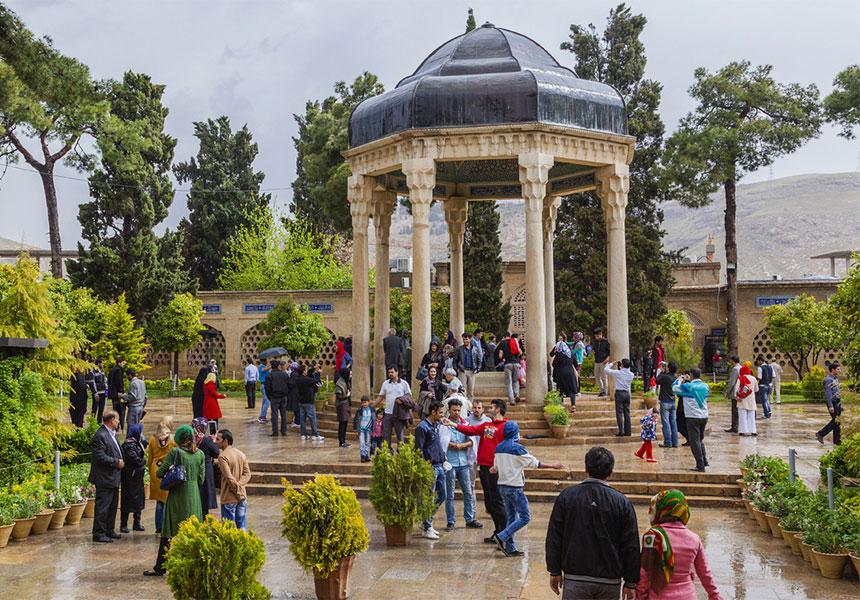Hafez tomb Iran