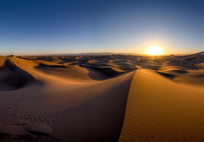 Lut desert Iran