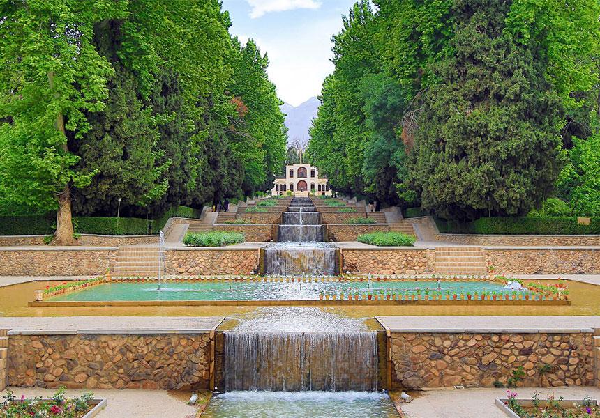 Shazdeh Mahan garden Iran