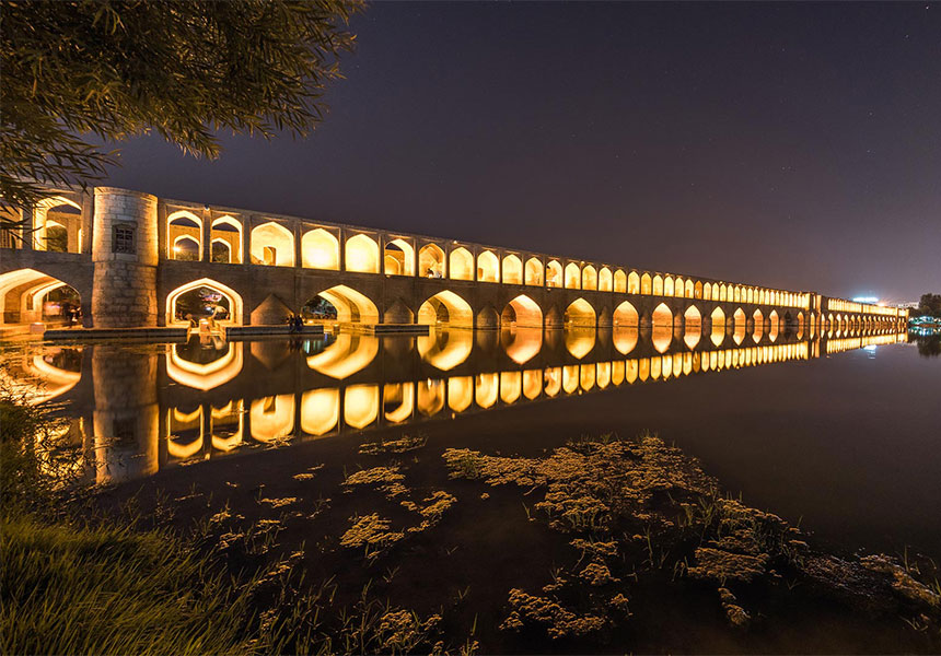 Si o Se pol bridge Iran