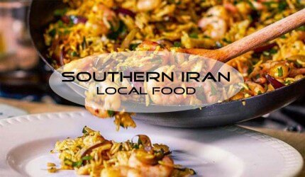 Iran food culture; The local Iranian food in southern Iran
