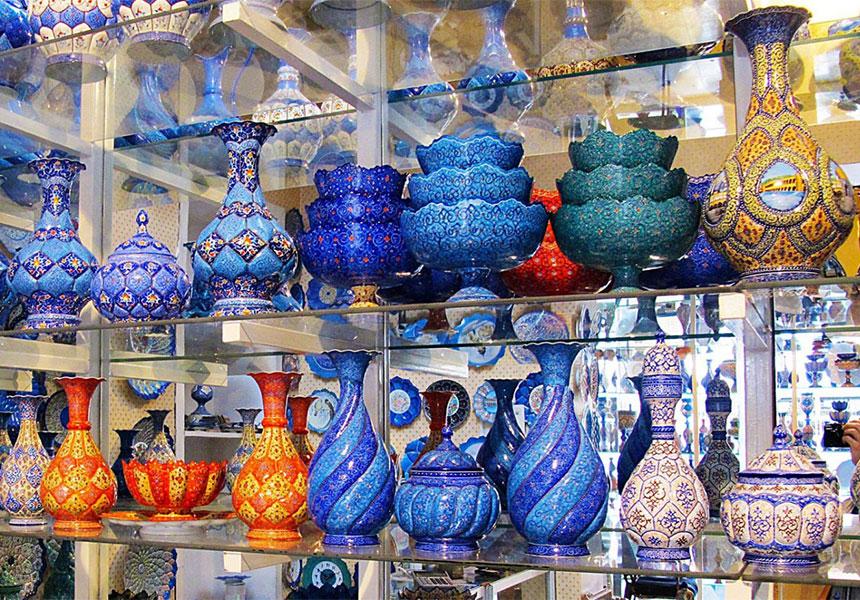 Shiraz souvenirs and handicrafts