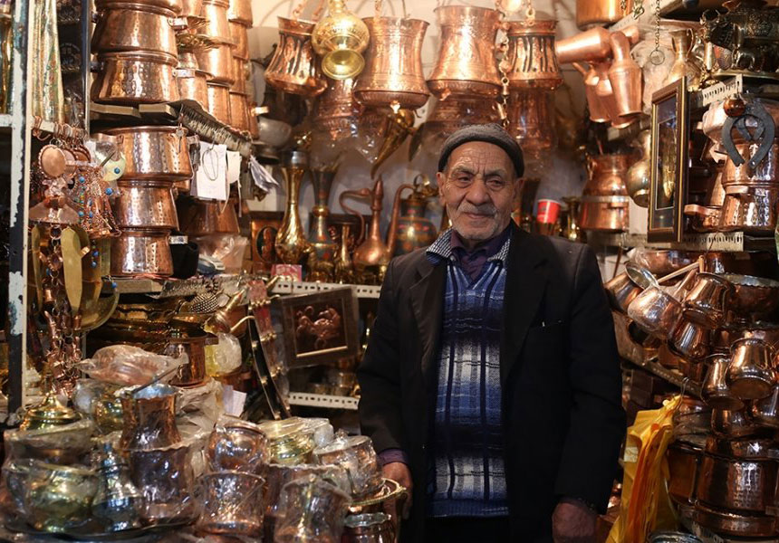 Isfahan souvenirs and handicrafts