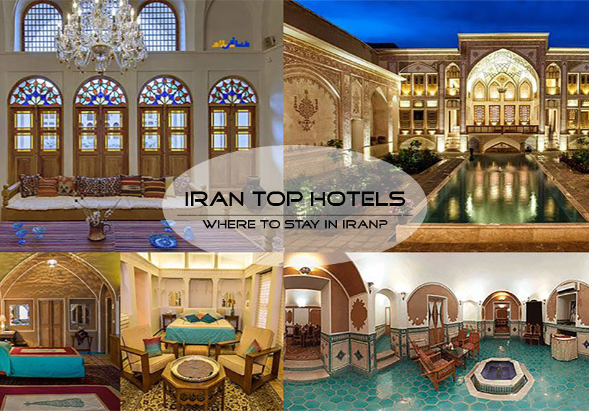 Iran Hotels; What are the top hotels in Iran cities? | Saadatrent