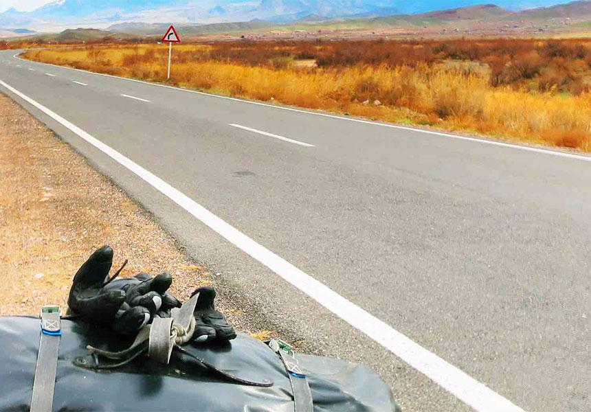 Road trip in Iran