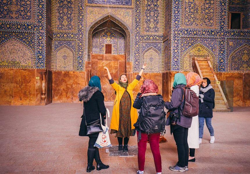 Iran group tours
