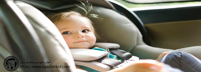 راهنمای سفر های جاده ای به همراه نوزادان