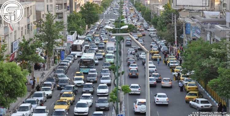 طرح ترافیک برای خودروهای اجاره ای