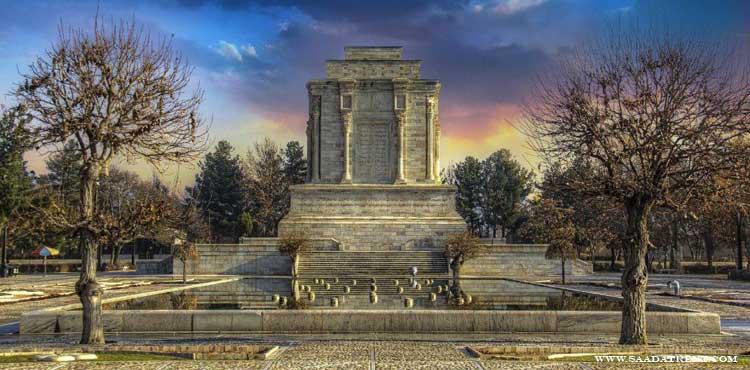Tomb of Ferdowsi; the Iranian poet