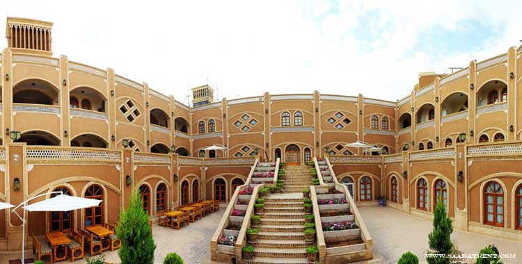 Dad hotel in Yazd