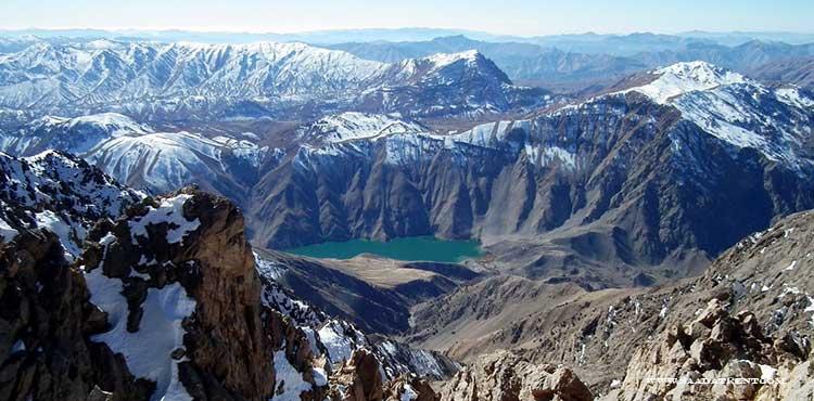 Gahar lake; Zagros mountains diamond