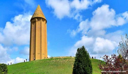 Gonbad Qabus; The tallest brick tower in the world
