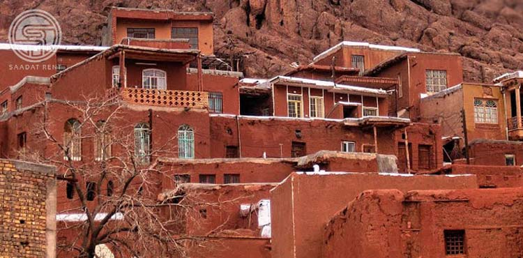 Abyaneh red village in Iran