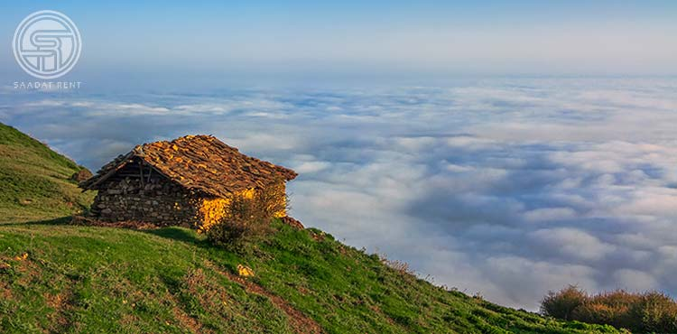Mazichal village in the north of Iran