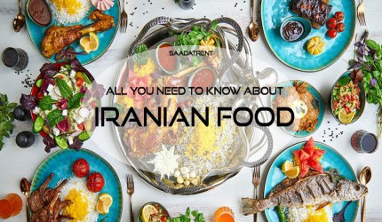 Iranian food; a unique taste you can find only in Iran cities