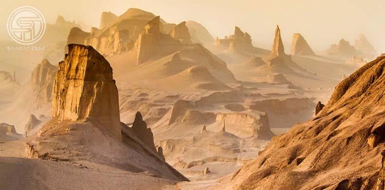 Kalut Shahdad desert in Kerman