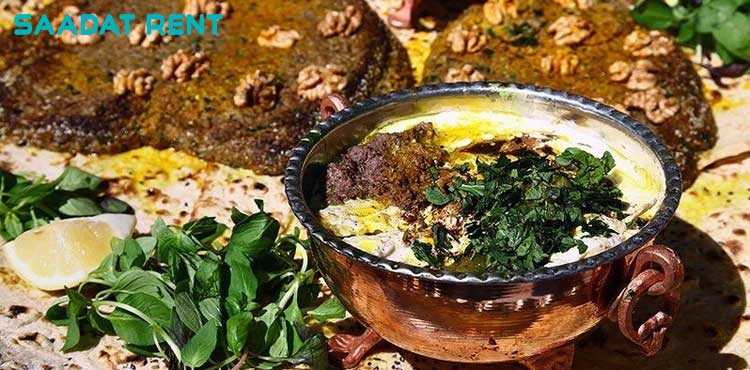 The most famous local food of Iran