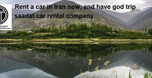 car rental market in Iran