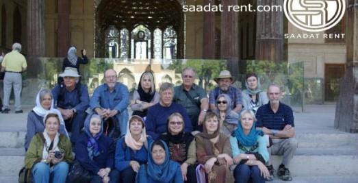 Select a car rental company in Iran