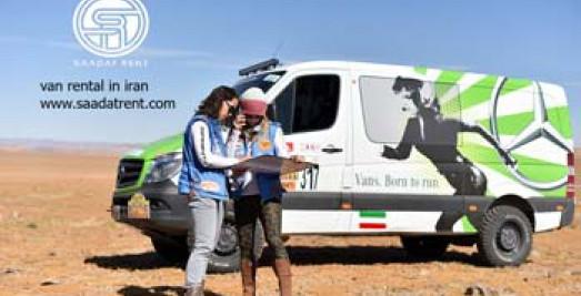 Van rental with driver in Iran
