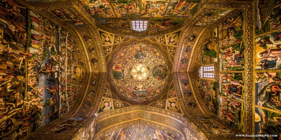 Vank Cathedral; the most Important church in Isfahan