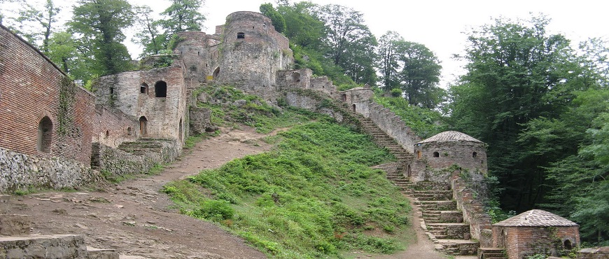 Thousand stairs till the the Rudkhan castle