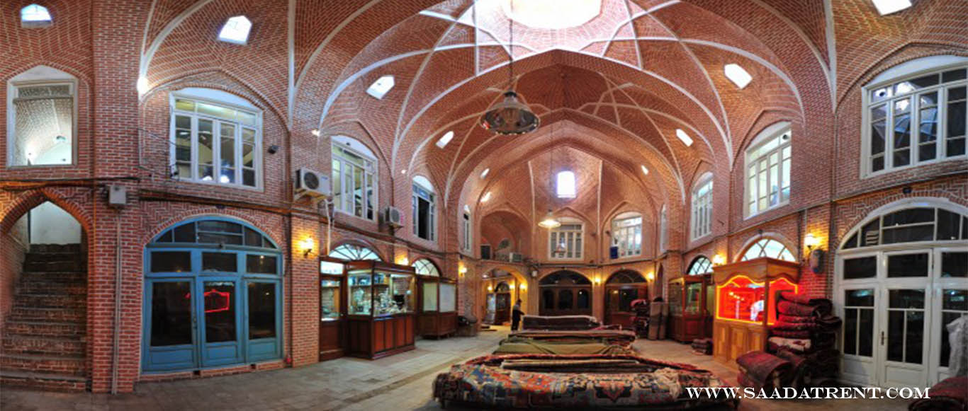 Bazaar of Tabriz; the sympol of greatness in the city