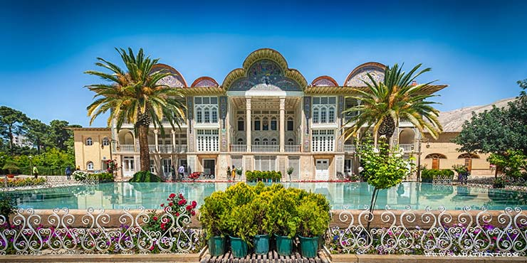 Eram garden four seasons beauty of Shiraz