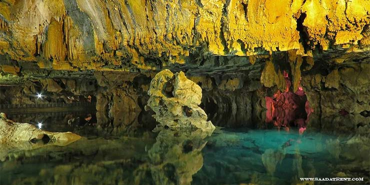 Alisadr the largest water cave in the world