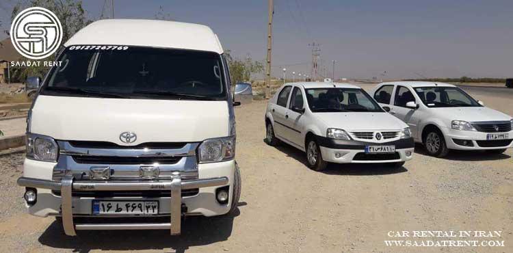 اجاره خودرو و کاربرد های آن در ایران