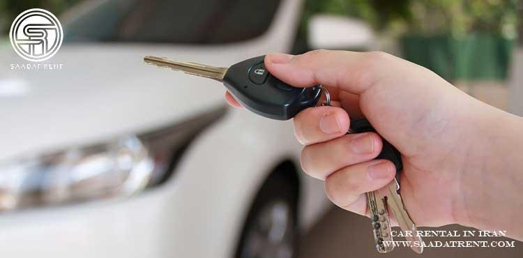 اجاره خودرو آنلاین شرکت سعادت رنت