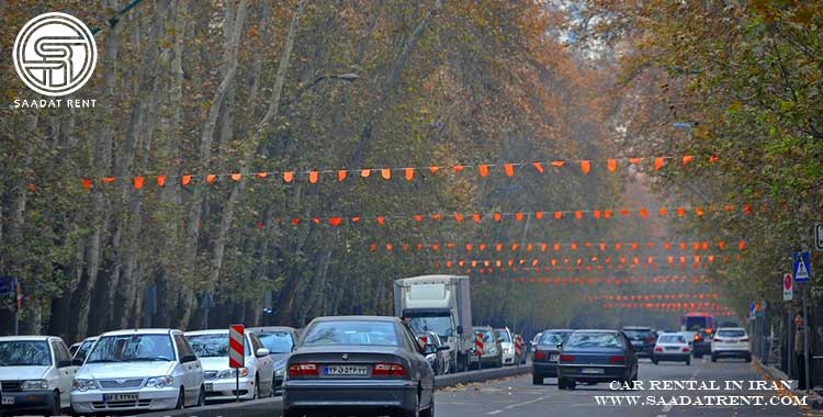 تهران گردی با شرکت اجاره خودرو سعات رنت