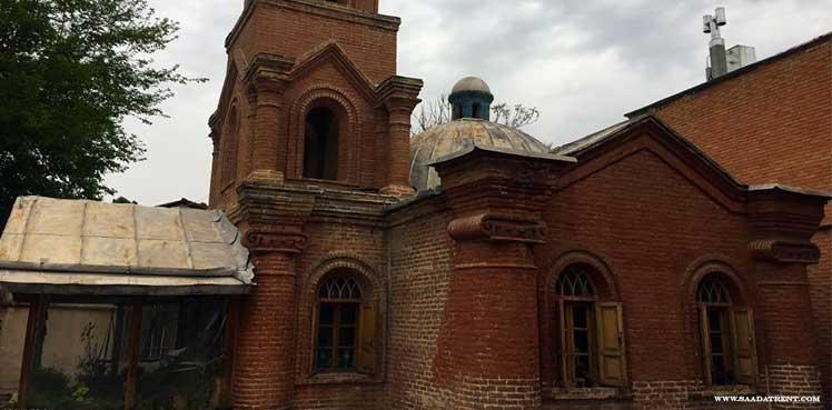 Cantor Church in Qazvin