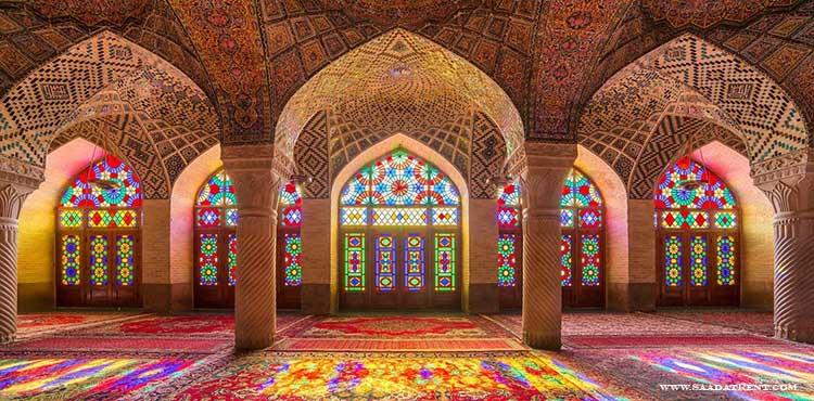 Nasir al-Molk mosque of Shiraz