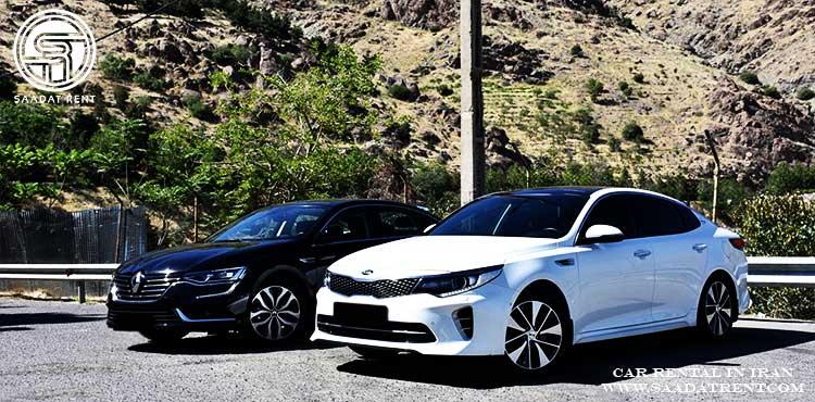 رنگ های پر طرفدار در صنعت اجاره خودرو