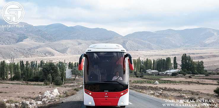 اجاره اتوبوس دربستی برای سفر به شهر سمنان