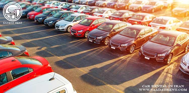 کلاس بندی خودرو های اجاره ای در صنعت اجاره خودرو