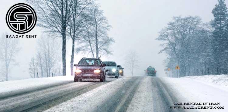کاربرد اجاره خودرو در فصل سرد زمستان