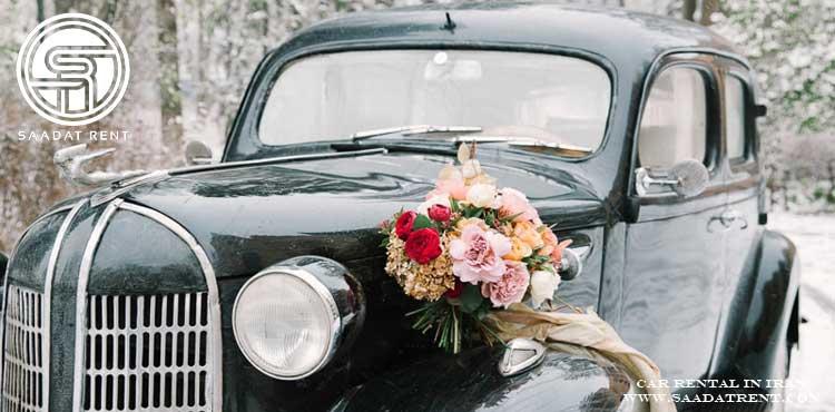 نکات مهم برای اجاره ماشین عروس در زمستان
