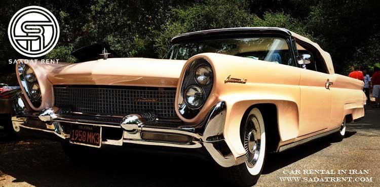 کاربرد اجاره خودرو های کلاسیک در صنعت اجاره خودرو