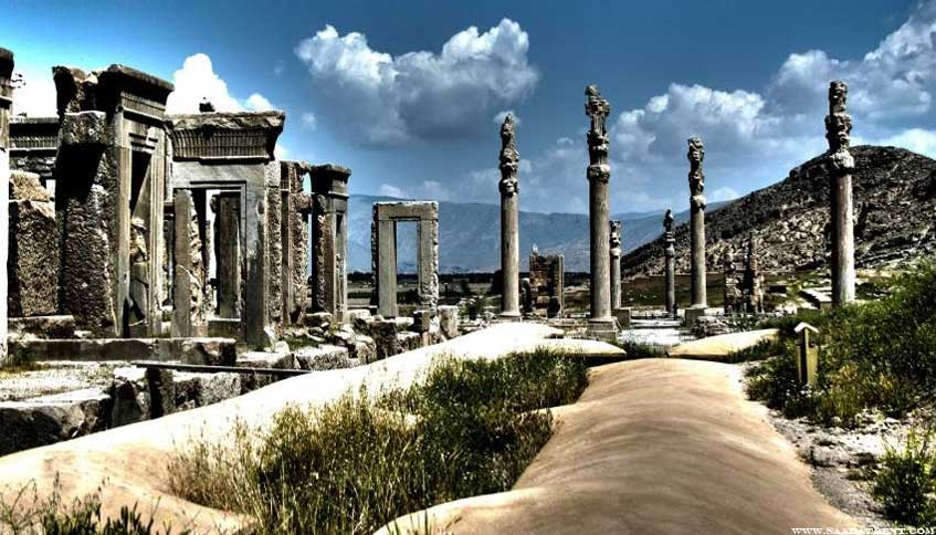 Persepolis, the most magnificent ancient palace in Iran