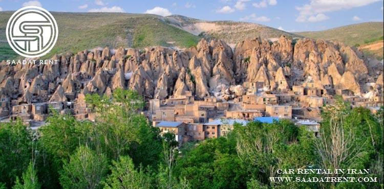 اجاره خودرو برای سفر به کندوان در استان تبریز